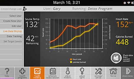 mpulse feature burn calories